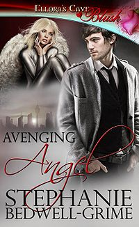 Avenging Angel Book Cover, written by Stephanie Bedwell-Grime
