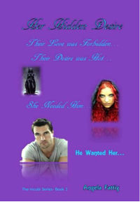 Her Hidden Desire eBook Cover, written by Angela Fattig