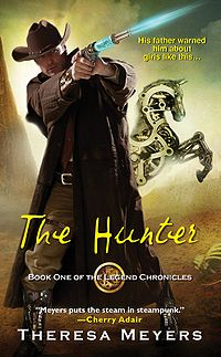 The Hunter Book Cover, written by Theresa Meyers