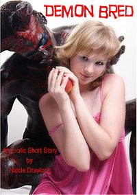 Demon Bred eBook Cover, written by Nicole Draylock