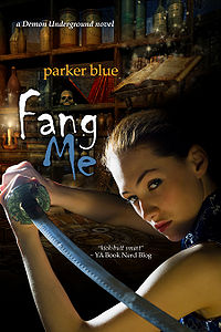 Fang Me eBook Cover, written by Parker Blue