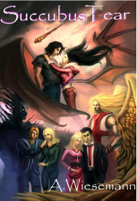 Succubus Tear eBook Cover, written by Andreas Wiesemann