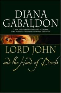 Lord John and the Hand of Devils Book Cover, written by Diana Gabaldon