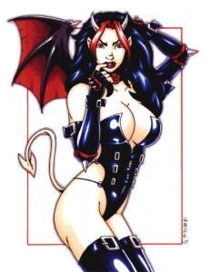 Devil Girl By Garrett Blair