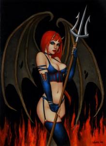 Scott Lewis Devil Girl
