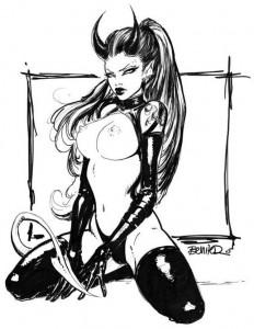 Devilgirl by Joe Benitez