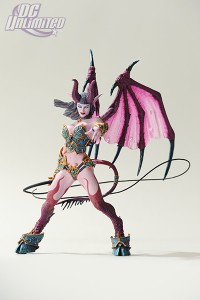 DC Unlimited figurine of Amberlash Succubus from World of Warcraft