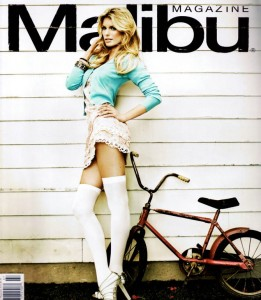 Marisa Miller Malibu cover page