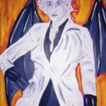 The Suited Succubus By Charles Moffat painted 2000