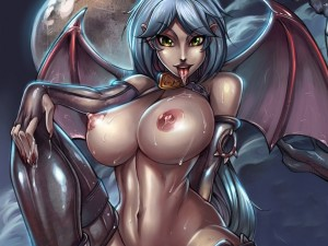Wet Succubus by Unknown Artist
