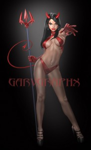 Devil Woman by Garv
