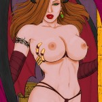 Succubus By rplatt coloured by Larss