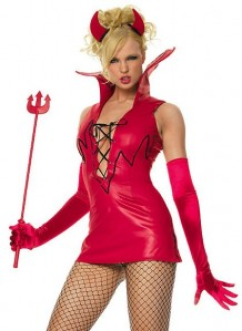 Glitter Devil Leg Avenue Costume
