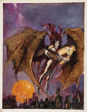 Vampire Succubus by Esteban Maroto