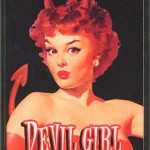 Devil Girl retro Cigarette case by Retro-A-Go-Go
