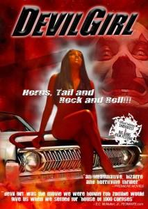 Devil Girl Movie DVD