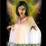 Box cover of the movie The Crier, reissued as the movie Demoness