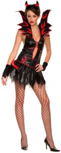 Fire Flirty Devil Costume