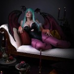 Morrigan Darkstalkers Cosplayer