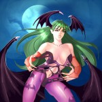 Morrigan from Darkstalke by discipleneil777