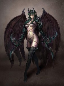 Succubus Pacing by Unknown Artist