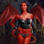 Alba Devil Girl by Unseen_Unheard