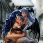 Morrigan and Felicia