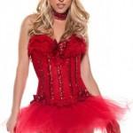 Carousel Corset Devil Costume