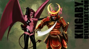 The Samurai and the Succubus by Kingaby