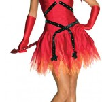 Hot Devil Lady Costume