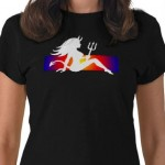 70s Devil Girl TShirt