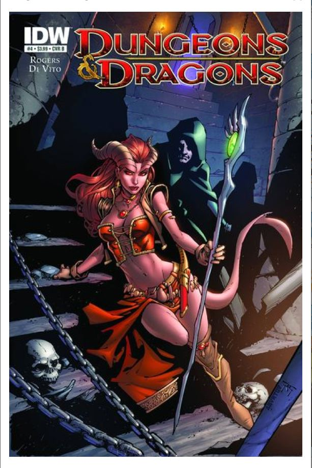 Dungeons and Dragons Issue 4 by IDW
