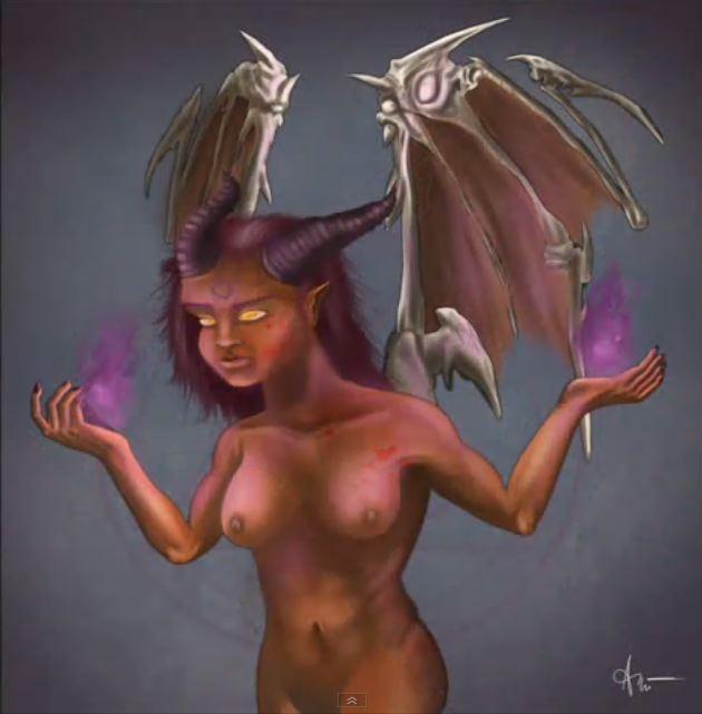 Demoness by MrCheezful