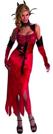 Devil Dame Costume