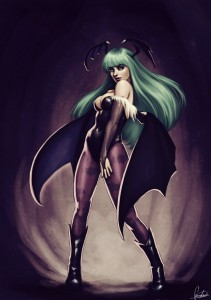Morrigan Aensland by Unknown Artist