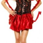 Sexy Fancy Devil Costume