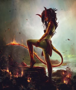 Fire Nymph by James Wolf