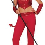 Devil Woman Halloween Costume