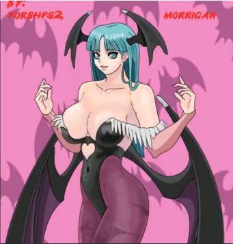 Morrigan by Yorshps2
