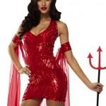 She Devil Mini Dress Costume