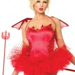 Sinful Devil Bustier Costume