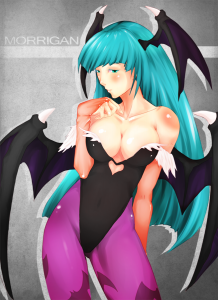 Morrigan - Color Practice by *Rush--it