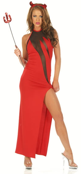 Risque Devil Gown