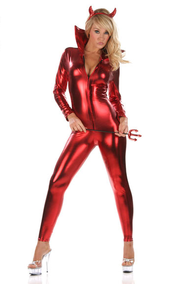 Sultry Devil Jumpsuit