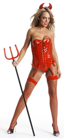 Daring Red Hot Devil Costume