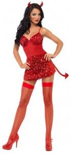 Glitter Fever Devil Costume