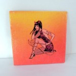 Devil Girl Fridge Magnet by Sybillinart