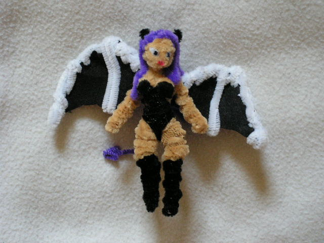 Succubus Plushie Doll by Fuzzy Figure Guy