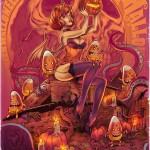 Happy Halloween V2 October Shadows by WacomZombie