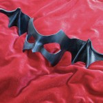 Batwing Leather Mask by Jyn Donham